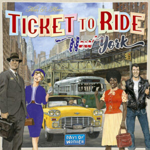 Lauamäng Ticket to Ride: New York 1960