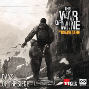 Mängulaiend This War of Mine: The Board Game - Days of the Siege