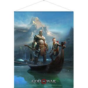 Seinapilt God of War: Father and Son 100 x 77 cm