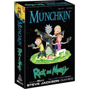 Lauamäng Munchkin: Rick and Morty