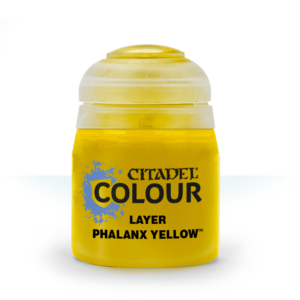 Värv Citadel Layer: Phalanx Yellow