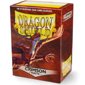 Dragon Shield: Matte Crimson (100 tk)