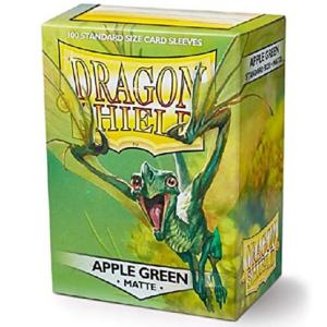 Dragon Shield: Matte Apple Green (100 tk)