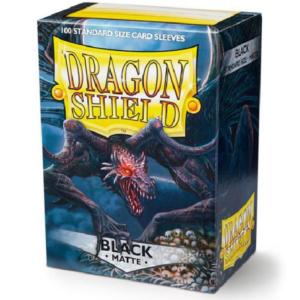 Dragon Shield: Matte Black (100 tk)