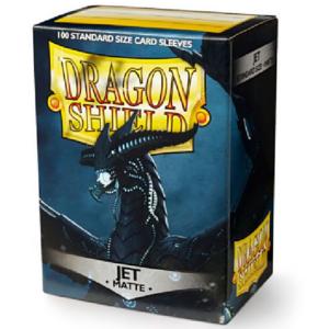 Dragon Shield: Matte Jet (100 tk)