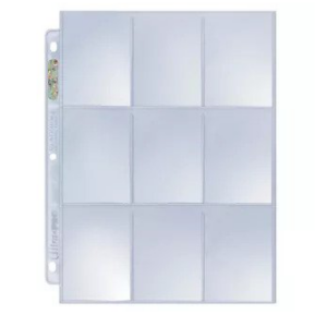 Ultra-Pro - Silver 9-Pocket Pages