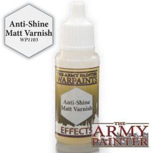 Army Painter Warpaints - Anti-Shine Matt Varnish 18 ml