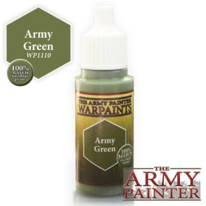 Army Painter Warpaints - Army Green 18 ml