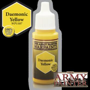Army Painter Warpaints - Daemonic Yellow 18 ml
