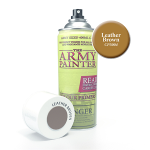 Army Painter Base Primer - Leather Brown Spray 400 ml