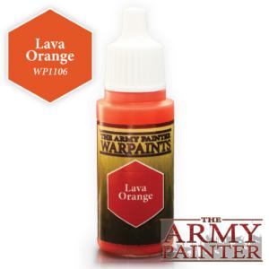 Army Painter Warpaints - Lava Orange 18 ml