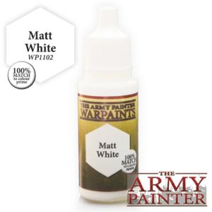 Army Painter Warpaints - Matt White 18 ml
