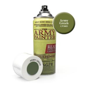 Army Painter Base Primer - Army Green Spray 400 ml