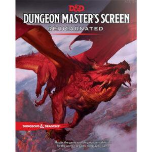 D&D: Dungeon Master's Screen Reincarnated