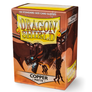 Dragon Shield: Matte Copper (100 Sleeves)