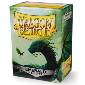 Dragon Shield: Matte Emerald (100 Sleeves)