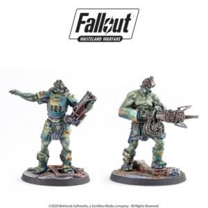 Fallout: Wasteland Warfare - Super Mutants: Fist & Overlord