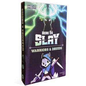 Mängulaiend Here to Slay: Warriors & Druids