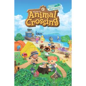 Plakat Animal Crossing: New Horizons 61 x 91 cm