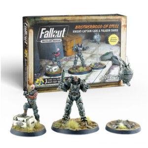 Fallout: Wasteland Warfare - BoS: Knight-Captain Cade & Paladin Danse