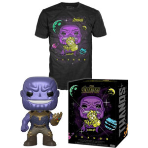 Kinkekomplekt Avengers: Infinity War POP! & Tee Box Thanos
