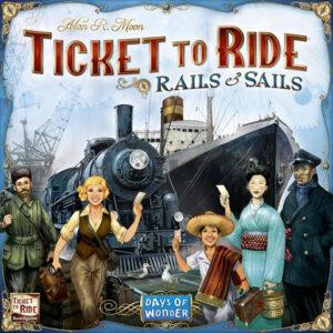 Lauamäng Ticket to Ride Rails & Sails
