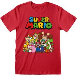 T-särk Super Mario - Main Character Group